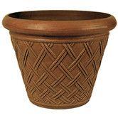 "Found it at Wayfair - PSW 14"" x 18"" Basket Weave Pot"