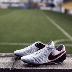 """""""Out in the field. #soccerbible #nike #tiempo"""""""