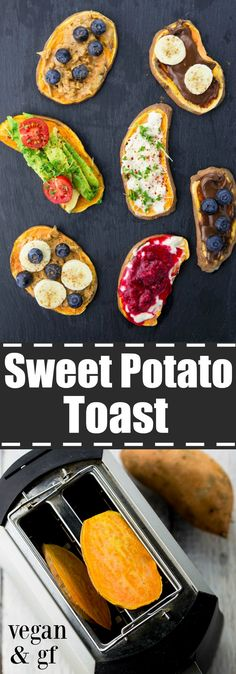 Have you tried sweet potato toast yet? It's insanely delicious, healthy, and completely vegan and gluten-free! Don't miss out on this new breakfast trend!