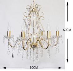 wedding decoration led light fixture antique brass chandelier stainless steel factory lamp NS-120223