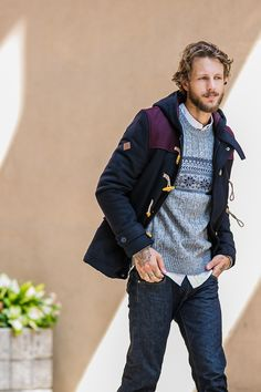 Get your toggle on! The best-selling Bellfield Nobel Duffle is back just in time for fall.