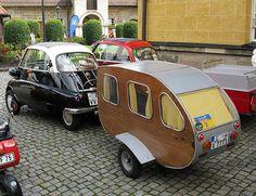 Tiny car - tiny trailer