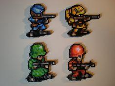 Advance Wars Soldiers by 8-BitBeadsStudio on DeviantArt