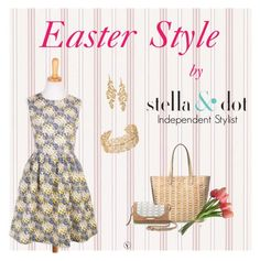"""Easter Stella and dot style"" by caroline-rader-znaniec on Polyvore featuring Stella & Dot"