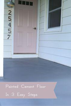 painting a concrete porch my style pinterest porch paint