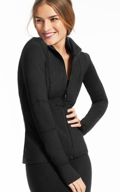 Most Comfortable Activewear EVER!!! I am never getting out of it!! CAbi Fall 13 Tech Jacket  Thank you CAbi design team!!!! Plus i look about 2 sizes smaller!! LOVE LOVE LOVE