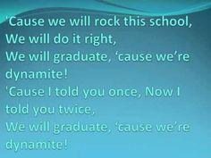 Dynamite   Kindergarten Graduation