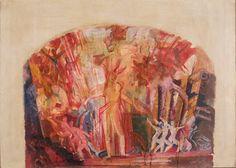 Эскиз занавеса Большого театра | Ф. Федоровский | 1918