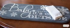 seven thirty three - - - a creative blog: Faux Chalkboard Sign