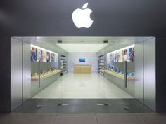 Well, it looks like the world is seriously at a strange tilt. We're getting word that, as of today, Apple Stores are going to be able to start selling iPhones, Apple Shop, Pampered Chef, Digital Life, Mini Store, Shop Facade, Retail Facade, Retail Store Design, Retail Stores, Mini Apple