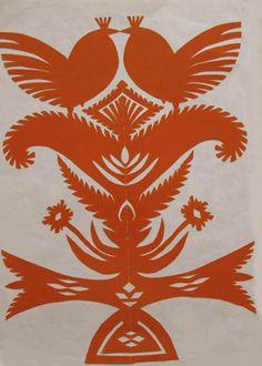Wycinanki, Polish papercut art