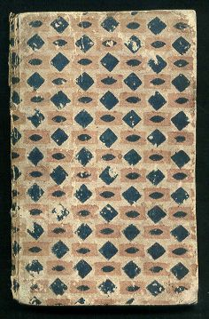 18th century French Printed Domino Book Paper