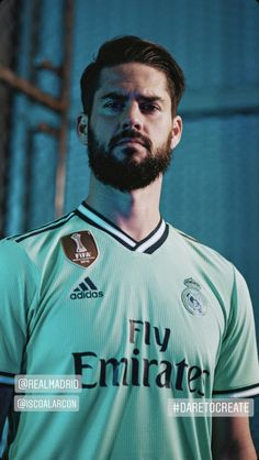 The Real Madrid C.F third jersey from adidas Football is inspired by technology and evolution, with the club's innovative development of the Santiago Bernabéu as the focal point. Barcelona Soccer, Fc Barcelona, Real Madrid Shop, Real Madrid Manchester United, Divas, Soccer Hair, Real Madrid Football Club, Isco Alarcon, Cristiano Ronaldo Lionel Messi