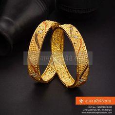 Brilliantly crafted precious gold patli for a precious occasion.