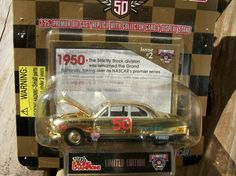 NASCAR 1998 RACING CHAMPIONS 50 YEARS OF NASCAR 1:64 GOLD SERIES #2 '50 FORD COUPE FREE SHIPPING!