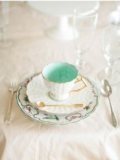 Tiffany Blue Tea Cup!