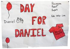 Day for Daniel is Australia's largest child safety awareness and education day. Education Day, Early Childhood Centre, Safety Awareness, Foundation, October, Foundation Series