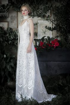 Une magnifique création de la collection de robe de mariée 2017 de Manon Pascual.