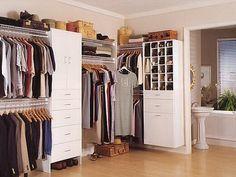 Home Design and Interior Design Gallery of How To Organize A Closet White Furniture