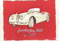 'Just for You Dad' 3D Card