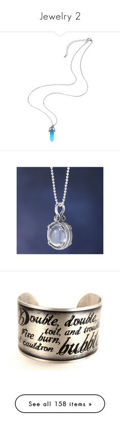 """""""Jewelry 2"""" by chibi-shinigami ❤ liked on Polyvore featuring jewelry, necklaces, crystal stone necklace, chains jewelry, crystal necklace, crystal pendant, crystal pendant jewelry, pendant jewelry, crystal ball pendant and renaissance jewelry"""