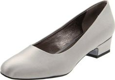 : Trotters Women's Doris II Pump: 8N color=silver, available gold