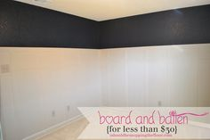 i should be mopping the floor: Board & Batten for Less than 30 dollars {#tutorial} (hoh131)