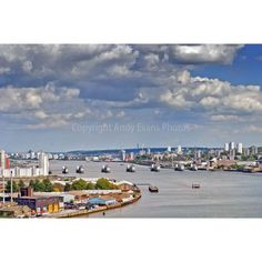 "Thames Barrier Woolwich London UK landscape photograph picture photo 7""x5"" print…"