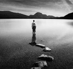 Sonnets - Loch Maree after Bill Brandt by Alex Boyd, via Flickr