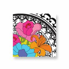 """French Bull - Barcelona Wall Art 14"""" Classic, bold and graphic. Pick the perfect pattern and set the mood in your bedroom, living room or office."""