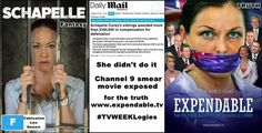 Kaz Cook @KazCook1   #Schapelle didnt do it #TVWEEKLogies #Channel9 smear movie, Fabrications >>TRUTH http://www.expendable.tv