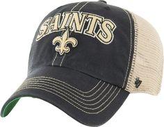 5bd096187aea79 '47 Men's New Orleans Saints Vintage Tuscaloosa Black Adjustable Hat