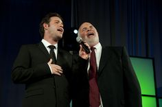 """Singing our Father-Son Closing Number """"God Bless The USA"""" in Las Vegas"""