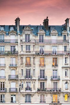 Evening falls in Paris, Fine Art Photography Print, $30.00