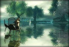 Entre-Vert-Bleu - Landscape in Second Life - SL