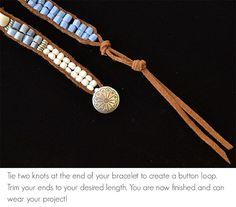 The Bead Table: Project Update: Harmonies Wrap Bracelet