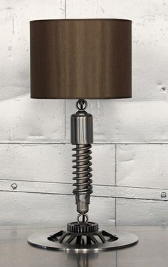 Lamp...for the bed room...such a manly addition... sure he would love it
