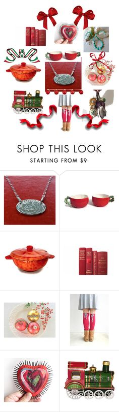 Tis almost the season! by laughingdog on Polyvore featuring interior, interiors, interior design, home, home decor, interior decorating and Christmas