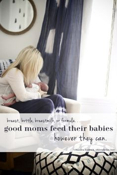 Good Moms Feed Their