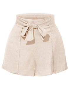 Elegante Stretchy High Waisted Tie Belt Pleated Summer Shorts A versatile day-to-night option, summer . Men's Casual Fashion Tips, Fashion Outfits, Womens Fashion, Ladies Fashion, Fashion Trends, Pleated Shorts, Striped Shorts, Summer Shorts, Summer Outfits
