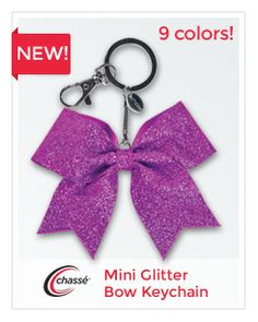 Mini bow keychain from Chassé
