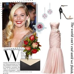 """Red Carpet Contest - 8"" by voltinimiriam on Polyvore"
