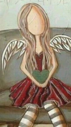 Stone Painting, Painting & Drawing, Fairy Sketch, Angel Drawing, Creation Art, Angel Crafts, Angel Pictures, Abstract Canvas Art, Angel Art