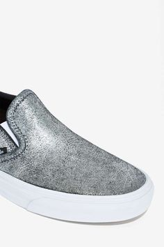 79edc4c9773 Vans Classic Slip-On Sneaker - Metallic - Shoes