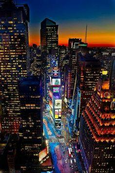 Times Square by Tom McCavera