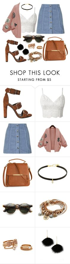 """""""Back in The Day."""" by sassy-behavior ❤ liked on Polyvore featuring Alexander Wang, Topshop, WithChic, Lizzy James, Forever 21 and Lulu*s"""