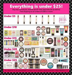 Everything is under $25