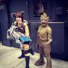 25 best rocket and groot costumes images on pinterest costumes cosplay guardians of the galaxy groot and rocket solutioingenieria Gallery