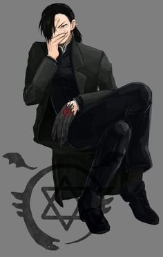 Tags: Fanart, Fullmetal Alchemist, Ling Yao, Fullmetal Alchemist Brotherhood, Homunculi, Greed/Greeling