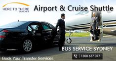 Every transport services don't fulfil all the requirements for both types of travellers. When it comes to Sydney airport shuttle, Here To There is the one and only shuttle service provider which is best suitable for both, a business traveller and a tourist.